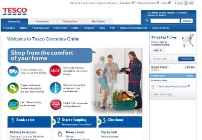 Supermarché en ligne à Prague: commander sur iTesco