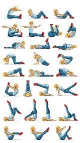 Cours de pilates, les principales positions