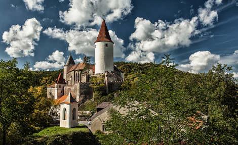 Visite du chateau Krivoklat