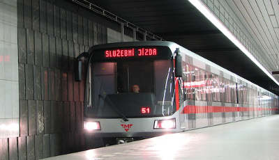 Métro à Prague