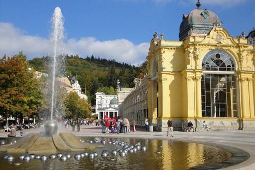 Marianske Lazne, ville thermale