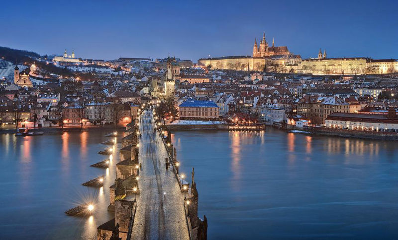 Destination romantique: prague