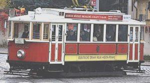 tram historique prague