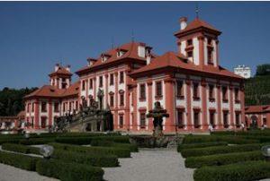Chateau de Troja au nord de Prague