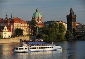 Croisière sur l'Elbe à Prague