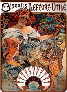 Alfon Mucha, artiste Art Nouveau